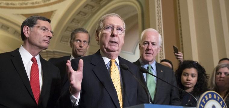 Republican Senators to Get Their Health Care Bill This Week