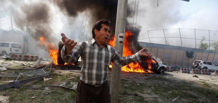 Kabul Bomb: Explosion Near German Embassy Kills Dozens