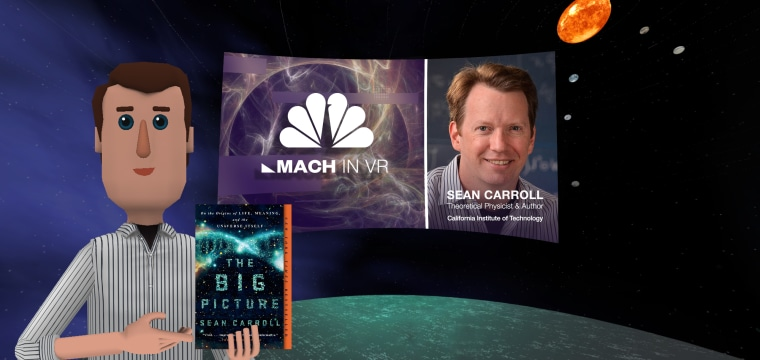 Top Physicist To Tackle Seven Cosmic Questions in VR Event