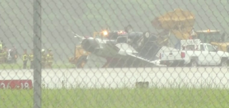 Thunderbird F-16 Military Jet Flips Over at Dayton, Ohio, Air Show Practice