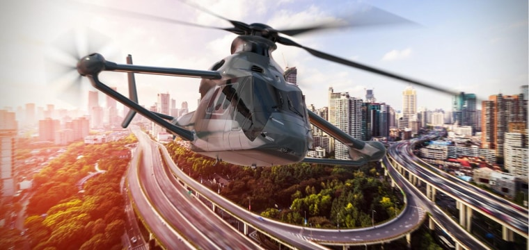 Futuristic 'Racer' Helicopter Combines High Speeds with Sustainability