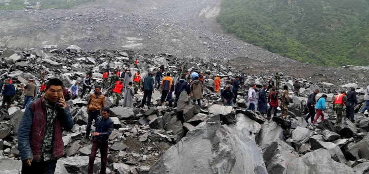 China Landslide: At Least 15 Killed as 120 Feared Buried in Mountain Village in Sichuan