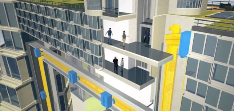 This Amazing Elevator Has No Cables and Moves Sideways. Here's How It Works