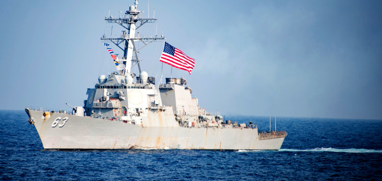 China Accuses U.S. Warship of 'Provocation' in South China Sea
