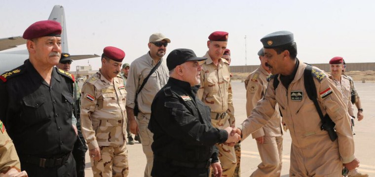 Iraq PM Abadi Arrives in Mosul to Declare 'Victory' Over ISIS