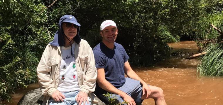 Sen. John McCain Spends Weekend Outdoors Relaxing