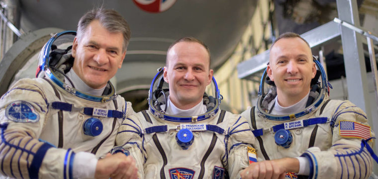 Watch Live as New Crew Blasts Off for Space Station