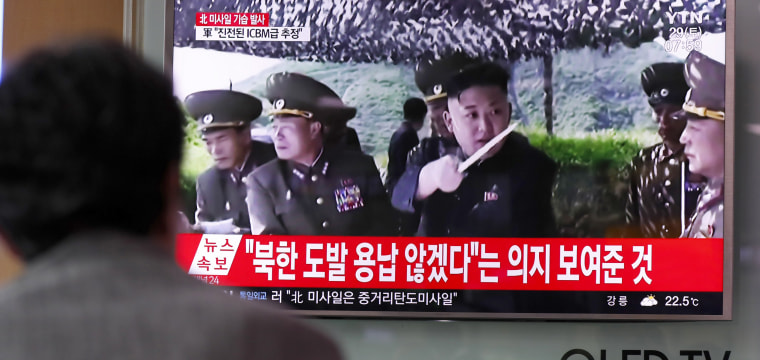 North Korea Launches Another Intercontinental Ballistic Missile