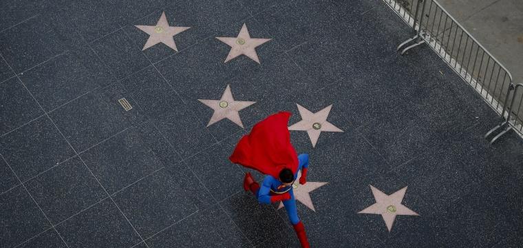 Superhero Costumes Keep Dreams Alive for Hollywood Hopefuls