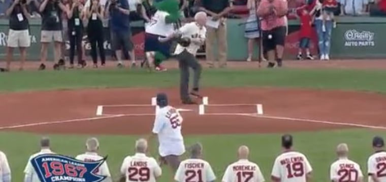Ball Two! This Ceremonial First Pitch Went HORRIBLY Wrong