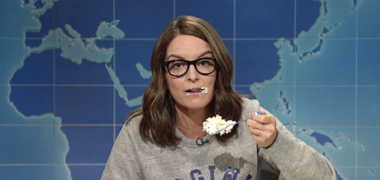 Tina Fey, an 'SNL' and UVA Alum, Urges Protesting With Cake on 'Weekend Update'