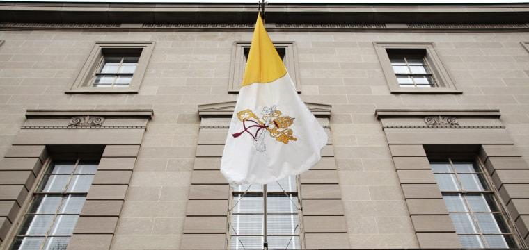 Vatican Recalls Priest at Washington Embassy Amid Child Porn Investigation