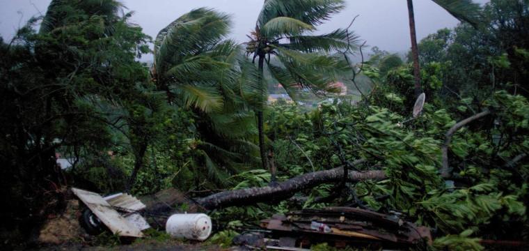 Hurricane Maria Devastates Dominica on Path to Puerto Rico