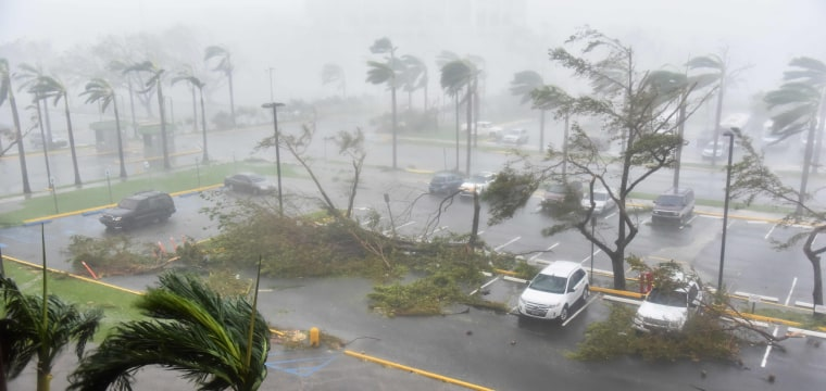 Hurricane Maria Makes Landfall in Puerto Rico as a Category 4 Storm