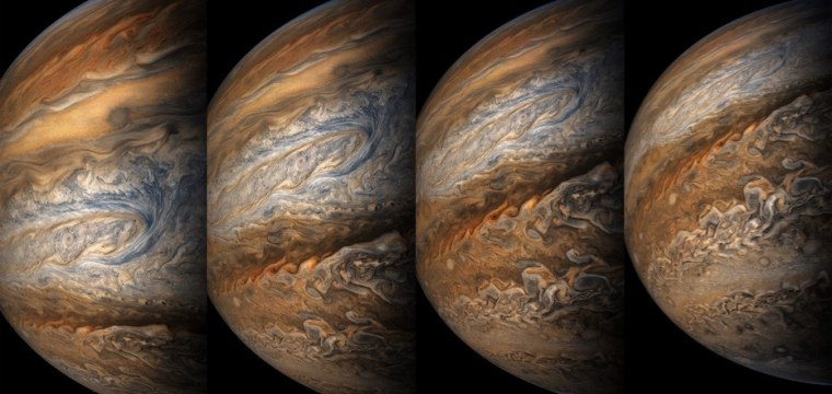 NASA Releases Dramatic Up-Close Pictures of Jupiter