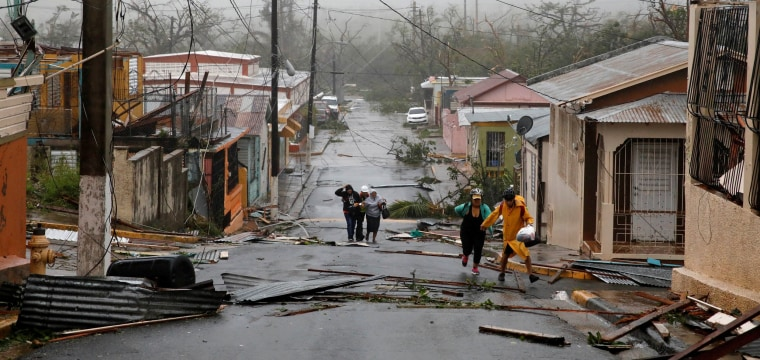All Power Out as Hurricane Maria's Winds, Floods Crush Puerto Rico