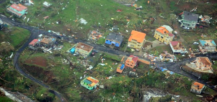 Hurricane Maria: Dominica Aerial Pictures Show 'Total Destruction'