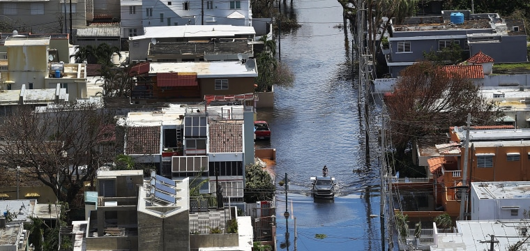 Hurricane Maria: Puerto Ricans Plead for More Federal Aid to Devastated Island