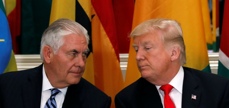 Tillerson's Fury at Trump Required an Intervention From Pence