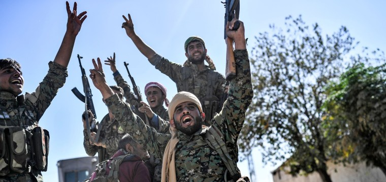 Raqqa Recaptured From ISIS by U.S.-Backed Militias