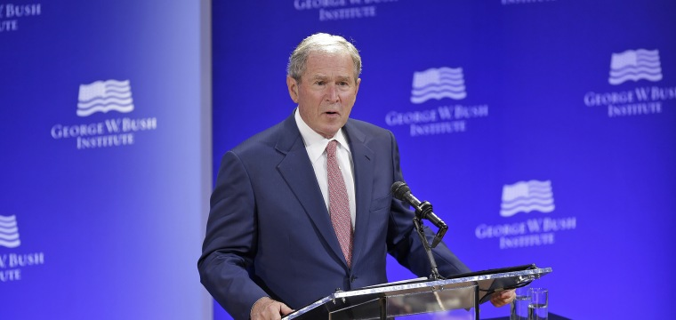 Ex-Presidents Send Trump a Pointed Message