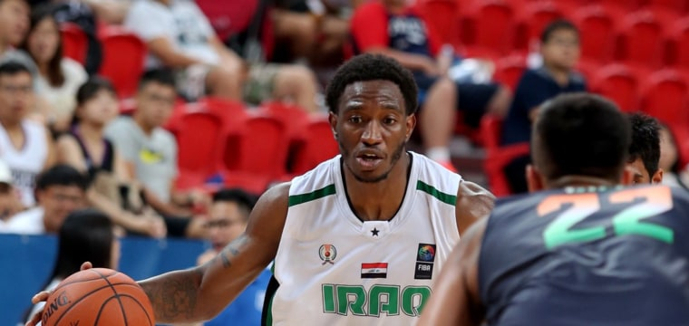 DeMario Mayfield is Iraq's new basketball star. And he's American.