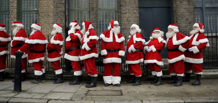 Santa students suit up to learn old Saint Nick's tricks