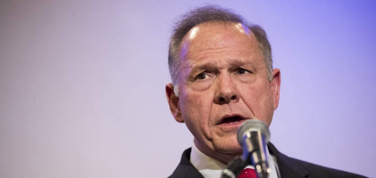 Roy Moore is waging war on Senate leader Mitch McConnell