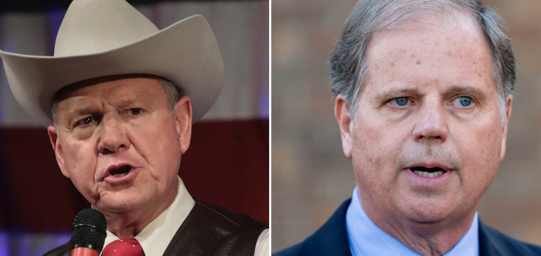 Alabama Senate race too close to call with over half the vote counted