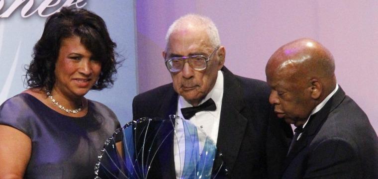 Pioneering black journalist Simeon Booker dies at age 99