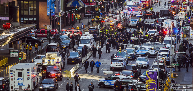 'Attempted terrorist attack': Suspect held after NYC rush-hour blast
