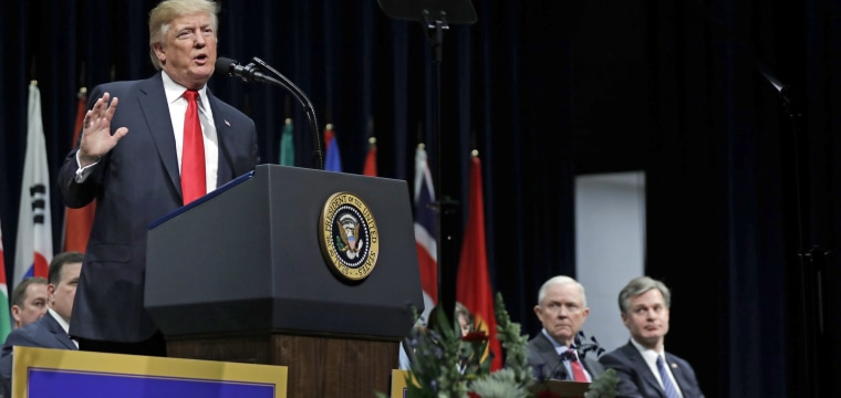 Trump laments 'sad' state of FBI ahead of speech to academy graduates
