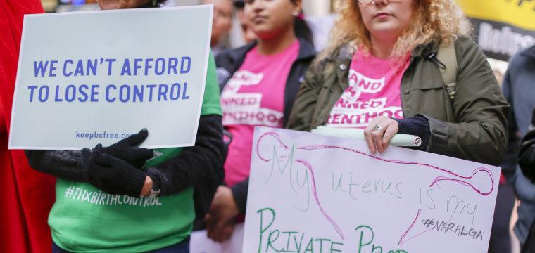 Judge temporarily blocks new Trump rules on birth control