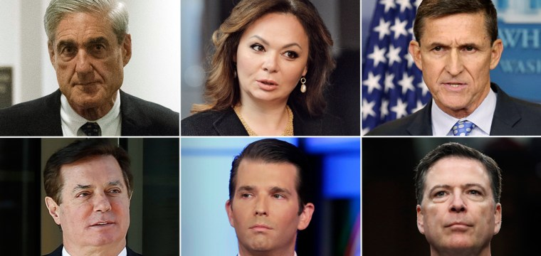 Russia timeline: Key players, meetings and investigation details