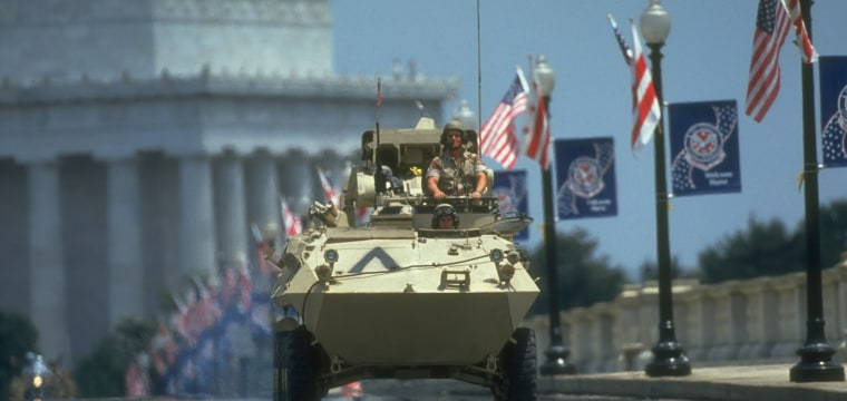 Trump's desired military parade: Analysts blast plan as 'North Korea-style' event