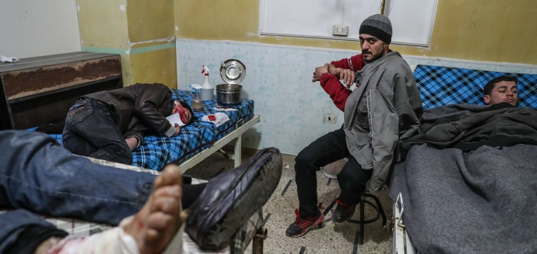 Russian hand seen behind increased bombing of Syrian hospitals