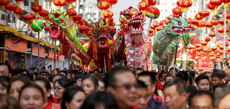Vibrant festivities kick off the Year of the Dog