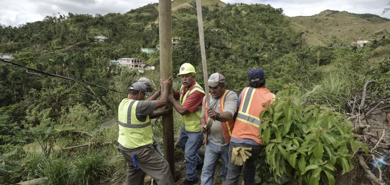 Why does restoring full power in Puerto Rico seem like a never-ending task?