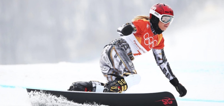 Ledecka is first woman to win gold in two sports at same Winter Olympics