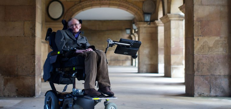 Stephen Hawking had ALS for 55 years. How did he do it?