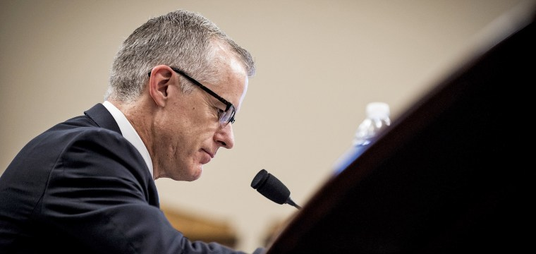 McCabe: Trump wants to destroy me to stop Mueller probe