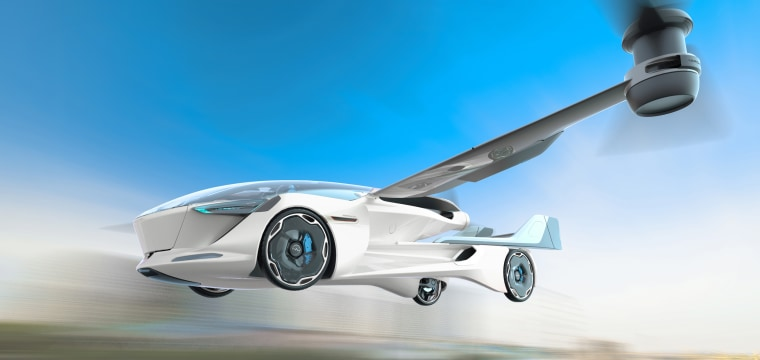 Will this futuristic flying car ever get off the ground?