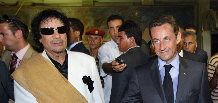 Sarkozy given preliminary charges as Gadhafi's son offers evidence
