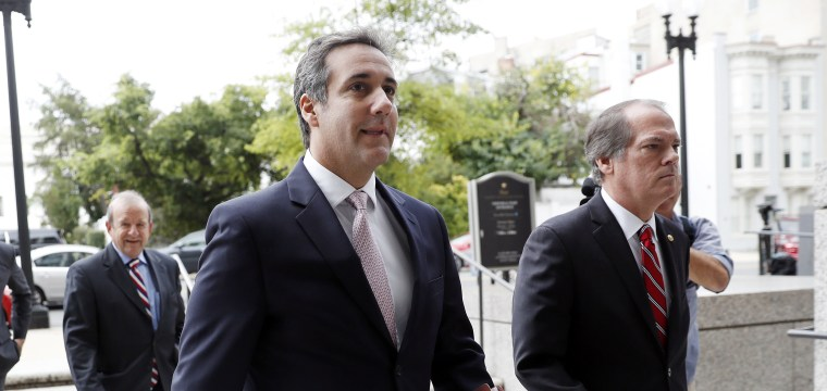 Trump says Michael Cohen won't flip. Those close to him aren't so sure.