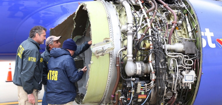 Southwest emergency: Did the FAA wait too long to order engine checks?