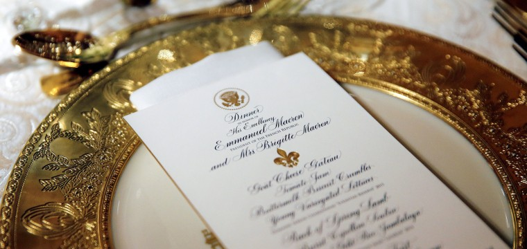 Candidate Trump had plenty of state dinner suggestions. President Trump hasn't taken them.