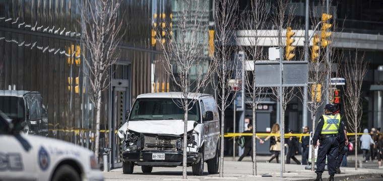 Toronto van attack suspect Alek Minassian charged with 10 counts of murder