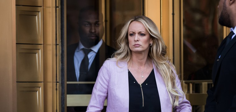Prosecutors cancel meeting with Stormy Daniels, her lawyer says