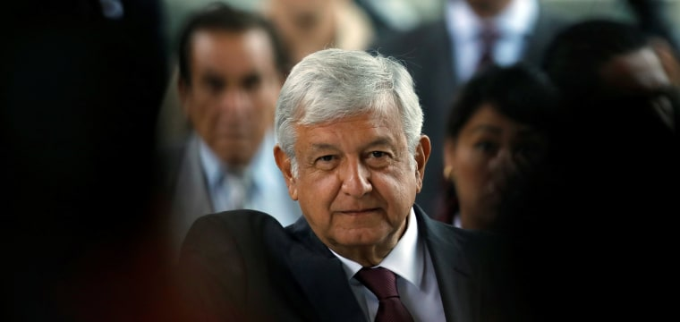 Mexican presidential candidate López Obrador open to international help to fight drug violence