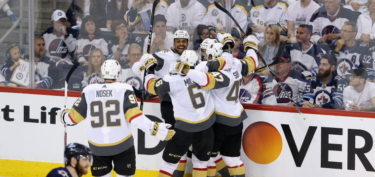 Golden Knights headed to Stanley Cup Final in their inaugural season